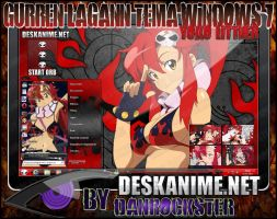 Yoko Littner Theme Windows 7 by Danrockster