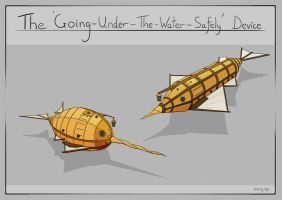 Discworld - 'Going-Under-The-Water-Safely' Device by ZacharyHogan