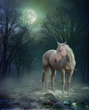 Green Mist Horse Manip by saphirestar5