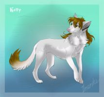 Ketty as a wolfess by Light-Angel-Vera