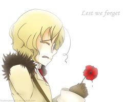 Lest we forget... by BrokenPencil13