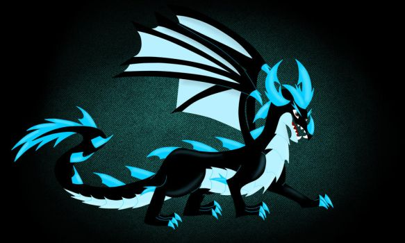 Electric dragon by Animalcool