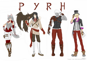 Team PYRH: by hearts-and-pins