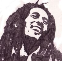 One Love -- Bob Marley by xXbytemeXx