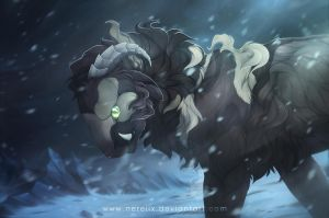 Shivers in the cold by Nereiix