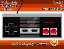 Photorealistic Original NES Controller by S3NTRYdesigns