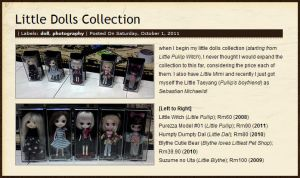 Little Dolls Collection 01 by ILICarrieDoll