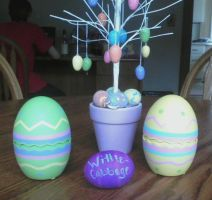 Happy Easter by wittlecabbage by wittlecabbage