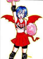 Deimon Devilbats Cheerleader by Eswaranma