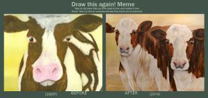 Draw This Again: Cow by The-Other-Half-Of-Me