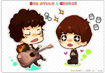 Chibi Dylan and George by wish114