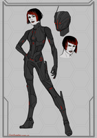 Rectified Quorra concept by InkyBrain