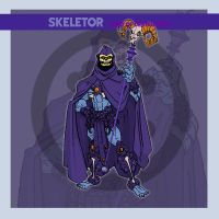 Skeletor - 200x era v.2 by thejason10
