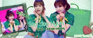 Seohyun SNSD Dancing Queen Banner by yoonaddict150202