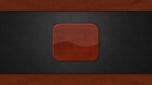 Login Screen: Metal Holes, Leather and Wood by EricRobichaud73