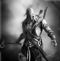 Assassin's Creed 3 - Connor by AlienFodder