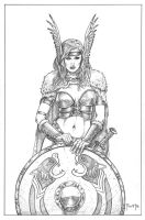 .Shield Maiden. by MitchFoust