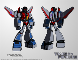 TF:Ignition - Starscream (Cyb. Robot Mode) by KrisSmithDW