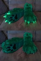 Green LED Paws by FurBros