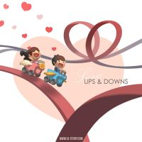 Ups and Downs by hjstory