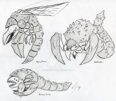 Spore creatures 3 by Dragon-Storm