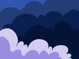 [FREE TO USE] Simple clouds background by Ayinai