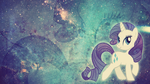 Wallpaper: Rarity by MadBlackie