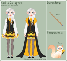 HP - Cecilia Reference Sheet by porcelian-doll