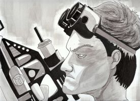 Dr Horrible by nathanobrien