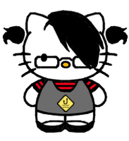 Emo Kitty by donotremove