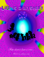 Life is a Mystery Comic Cover by Mezame9