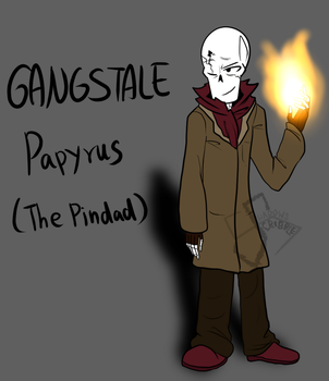 Gangstale leader Papyrus by Scribbleshadows