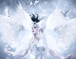 The White beauty angel by annemaria48