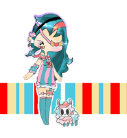 Candy Stripes Adopt With Sugar Snap AUCTION [1/2] by PastelLights