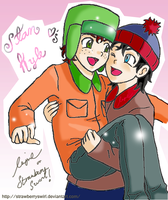 SP - Stan and Kyle Being Cute by StrawberrySwirl