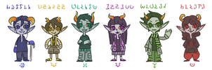 Friendtrolls by blindleap