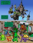 Commission: Serpenna and the Skylanders pg 10 by oogaboogaz