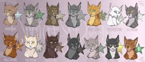 Leaders of Windclan by WoofyDragoncat68