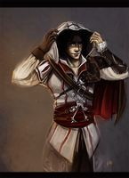 young Ezio by radacs