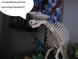 Mexican Dino by fuzzball17