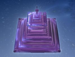 Animated Crystal Tower by catelee2u