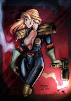 R. Kinnaird's Judge Anderson by Battlewraith