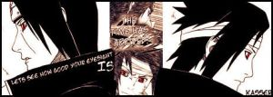 Sasuke and Itachi Sig by TheAceOverlord
