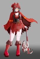 Red Riding Hood - character by fatalis-sacristia