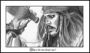 Why is the rum alway's gone? by Missy-Sparrow
