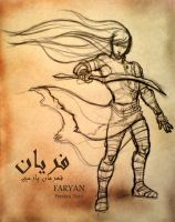 Faryan-Persian Hero by ClownDomain