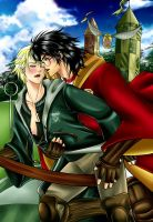 Drarry - Quidditch Time by Sambre-sambre