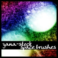 Space Brushes by yana-stock