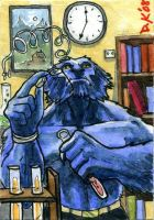 Beast Sketch Card by DKuang