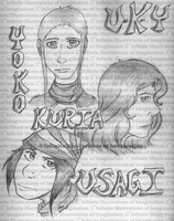 We Are Usagi, Kuria, and Yoko - We Are U-K-Y by I3-byUsagi